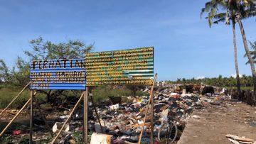 Sekilas Tentang 'Bukit Sampah' Gili Trawangan
