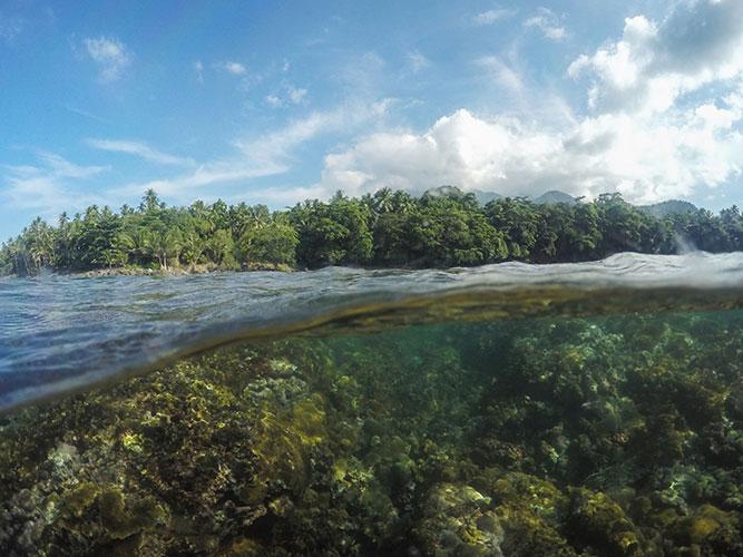 Kepulauan Sangihe, Kombinasi Unik Diving Spot, Sagu, dan Orkestra Bambu