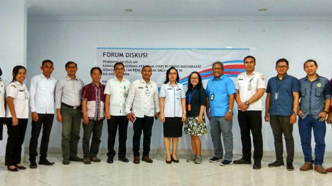 Usulan Kawasan Konservasi Perairan (KKP) Berbasis Masyarakat di Kabupaten Kepulauan Sangihe, Sulawesi Utara