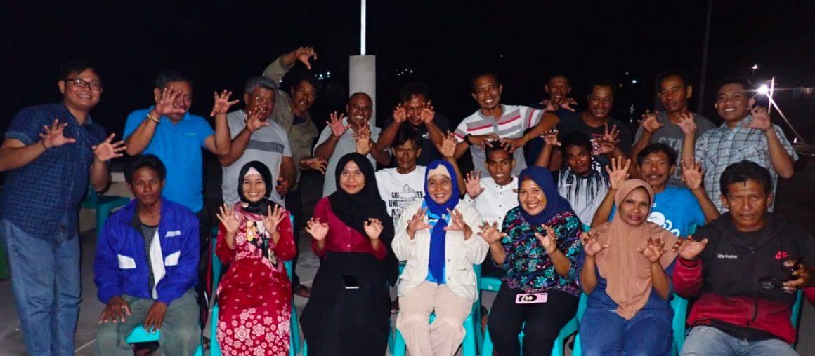 Rumah Boboca Desa Bulutui, Zona Buka Tutup Gurita Pertama di Sulawesi Utara.