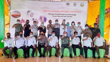 """""""BERBAGI RUANG MERAWAT KEHIDUPAN; Pameran Produk Desa Penyangga Taman Nasional Way Kambas, Labuhan Ratu VI-Lampung Timur"""""""
